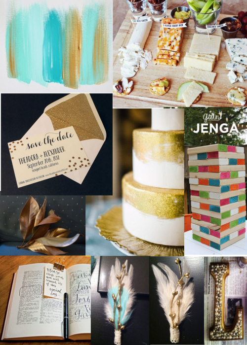 Wedding Details Mood Board