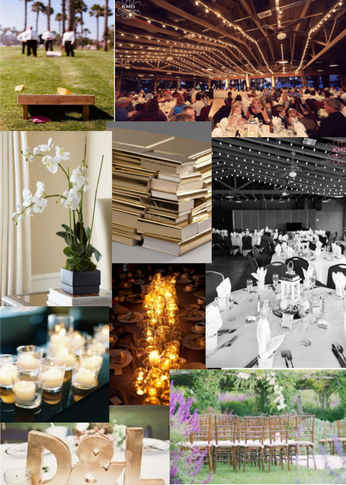 Reception Decor Mood Board